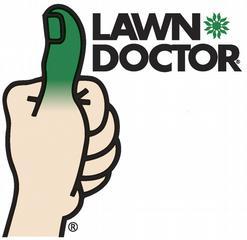 logo: lawn doctor