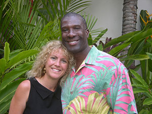Maurice Dowell and wife Donna
