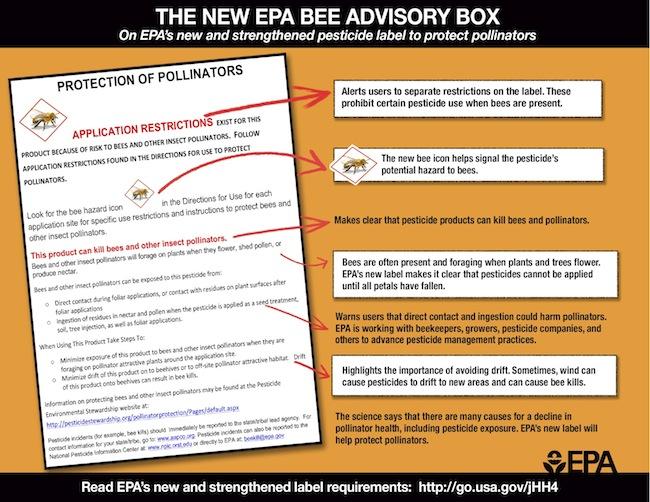 EPA bee label