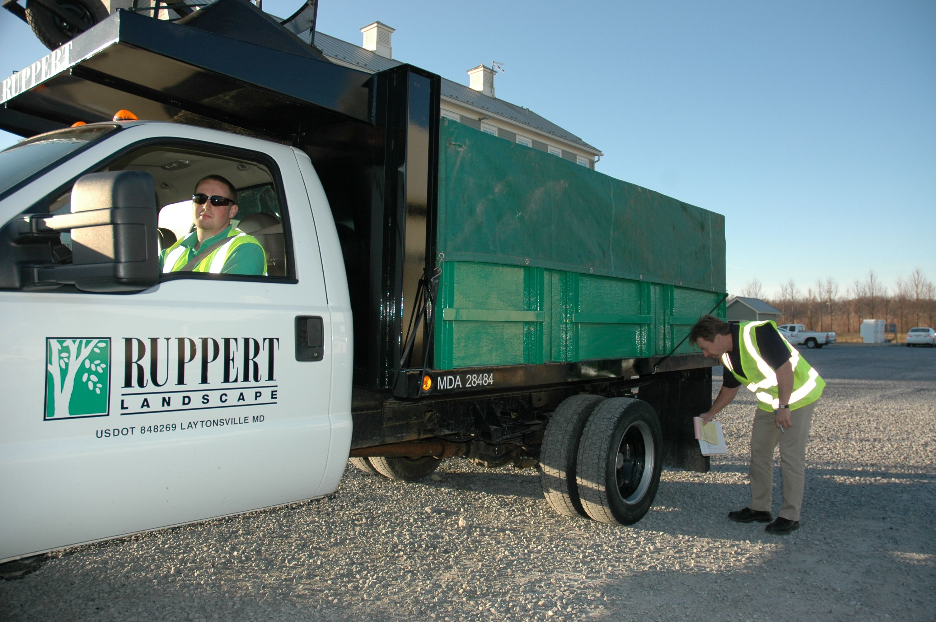 Ruppert Crews Undergo Weekly Inspections As They Leave The Yard To Ensure Their Truck And Trailer