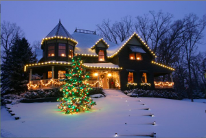 An alternative service, such as holiday decorating, is one of the most common ways to deal with seasonality. Photo: Christmas Decor
