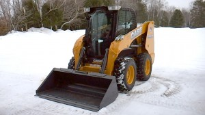 CASE Construction Equipment is auctioning off a SR175 skid-steer loader to benefit the United Way. Photo: CASE