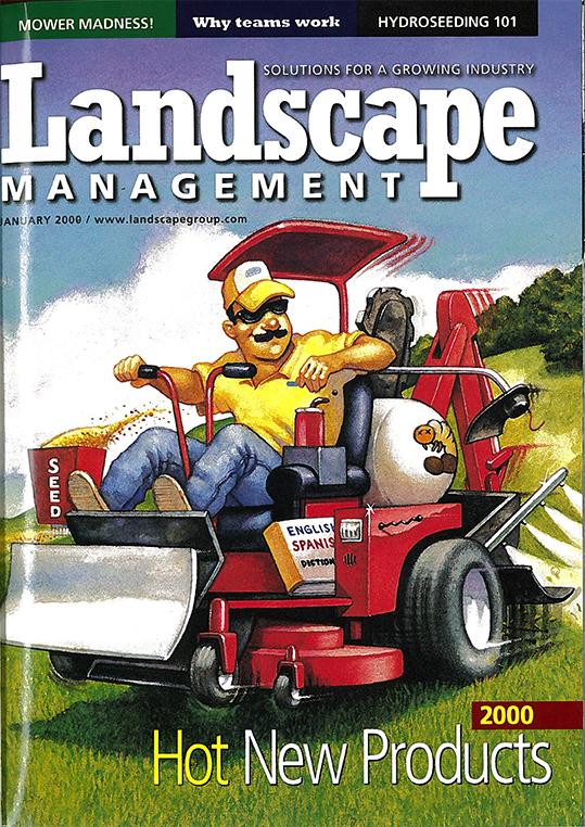 Landscape Management Cover:  Jan. 2000