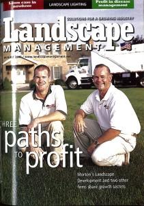 Photo: Landscape Management august 2002