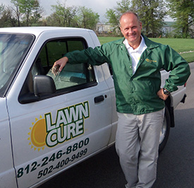 Patrick Hawkins President/General Manager, Lawn Cure of Southern Indiana, Sellersburg, Ind. Former DHL Express senior manager of contract relations