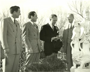 From left: Gordon, Henry, Joe Jr. and Joe Sr. Lambert.