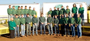 Lawn Butler has grown from 25 to 38 employees since Seth Kehne, owner, added a management structure. Photo: Lawn Butler
