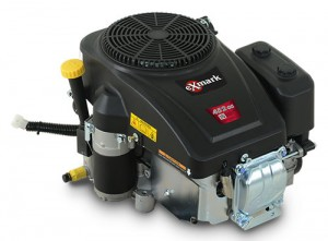 The 452cc engine will first be available on Exmark's 34-in. Quest S-Series machines. Photo: Exmark