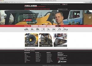 McLaren launched a new website. Photo: McLaren
