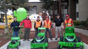 Valleycrest Maintenance Crew Members Get A Handle On How To Operate Newly Purchased Mean Green Mowers