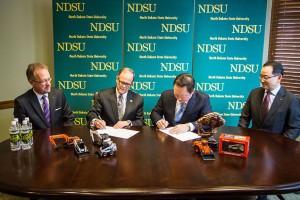 Doosan, Bobcat donate $3 million to NDSU