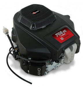 Exmark's Quest E- and S-Series machines are the first to be available with the 708cc engine. Photo: Exmark