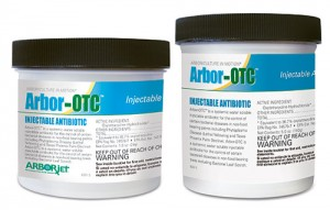 Arborjet's Arbor-OTC comes available in 1 oz. and 5 oz. containers.