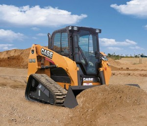 The TR340 compact track loaders comes equipped with selective catalytic reduction technology.