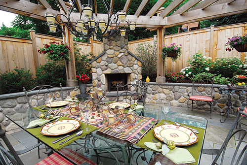 Buyers of landscape staging services are often looking for quick fixes. Photo: Schmechtig Landscapes