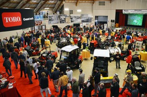 An overview of the show floor at Reinders' 22nd Green Industry Conference. Photo: Reinders