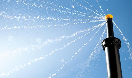 Nozzle-spray-lookingup_rt Photo: Rain Bird