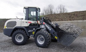 Terex-TL120-Wheel-Loader Photo: Terex