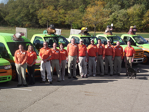 Tuff Turf Molebusters won a 2015 Ford Transit van in an essay and social media contest held by Ford. Photo: Tuff Turf Molebusters