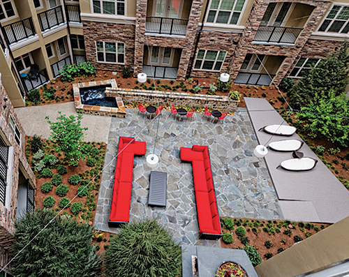 Visionscapes, based in Tucker, Ga., specializes in large-scale commercial landscape construction.