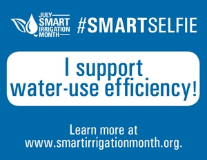 The Irrigation Association is urging industry members to download its #SmartSelfie sign, snap a photo and share it on social media.