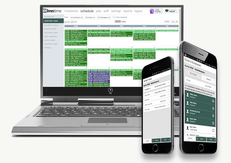 LMN's Time-Tracking Software