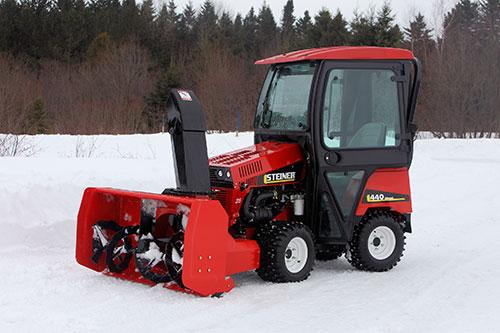 Steiner Releases Sb648 Professional Snow Blower
