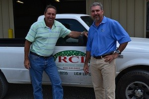 RCI Senior Vice President Rod Rotolo (left) and President Keith Rotolo