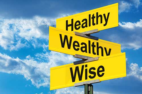 Healthy, wealthy, wise. Photo: ©iStock.com/James Brey