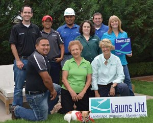 Lawns Ltd. has grown from a one-woman mowing operation to a $2 million, full-service landscape company.