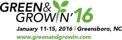 logo: green and growin 2016