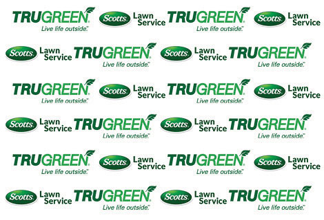 Logos: TruGreen and Scotts Lawncare