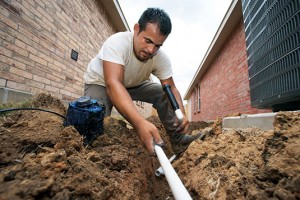 Irrigation contractors often use the type of pipe they've always used, experts say.