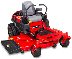 Gravely expands zero-turn series