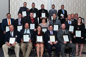 Ruppert recognized 19 employees with Branch Impact Awards at its yearly awards banquet.