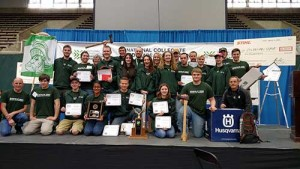 Michigan State University took first place overall at the 40th annual National Collegiate Landscape Competition.