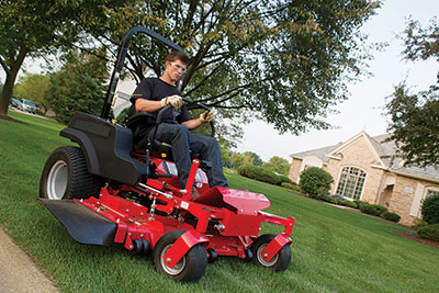 Pros and cons of repowering commercial mowers