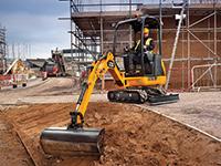 jcb-excavator-8018 Photo: JCB