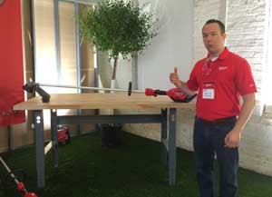 Milwaukee Tool Product Manager Andrew Lentz details the manufacturers new three-tool lineup of cordless outdoor power equipment.