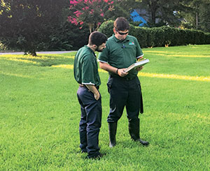 Kathleen's educates employees, who in turn educate homeowners on proper lawn care.