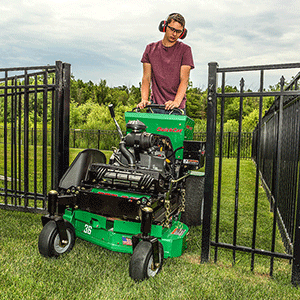 BOB-CAT: QuickCat 36-inch stand-on mower