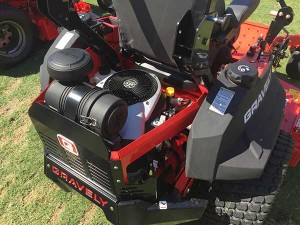 Yamaha is continuing a move into the landscape market that started with a partnership with Gravely, announced in October.