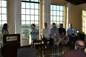 A panel of experts weighs in on industry challenges during a breakfast panel at the LM Lawn Care Forum Nov. 12.
