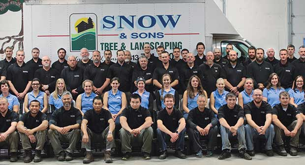 Photo: SNOW & SONS TREE & LANDSCAPING