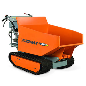 Power Trackbarrow with Hydraulic Assist.