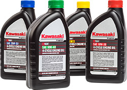 Kawasaki K-Tech oils