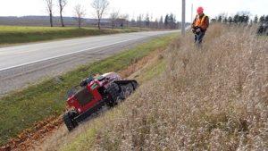 Slope-Pro steep slope mower
