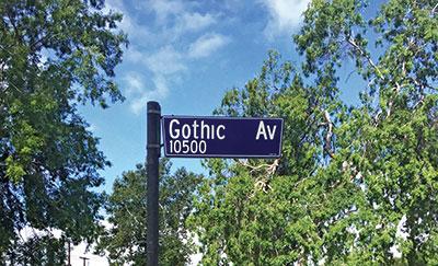 Photo: Gothic Landscape