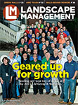 Landscape Management January 2018 cover. Photo by Lou Ferraro, wallfrog.com