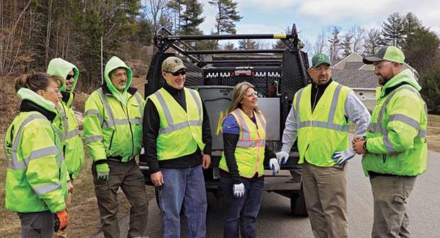 The Belknap team. Photo: Katya Danilova, dorogamedia.com